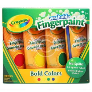 Washable Fingerpaint
